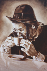 Coffe Break - by Ilse KLeyn